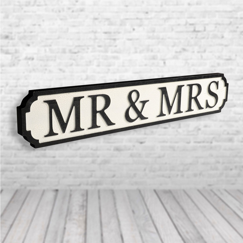 Mt and Mrs Road sign