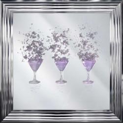 Pink Martini Glasses Mirror...