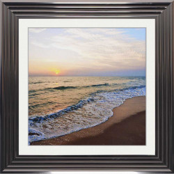 Beach Sunset Picture 75cm x...