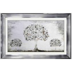 Chrome Silver Money Tree...