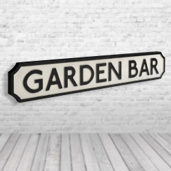 Garden Bar Vintage Road...